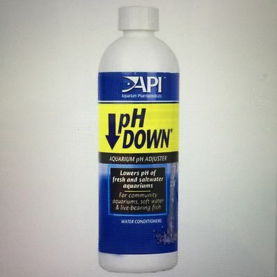 4 X API pH Down 118ml  ( Total 472ml )