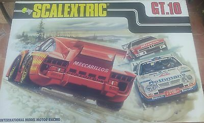 scalextric circuito exin gt 10