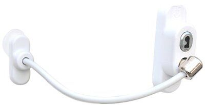 Penkid Safety Window Restrictor  Single, White