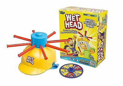 Wet Head Game Water Roulette Fun for Kids Toy Play New Free Shipping Zing