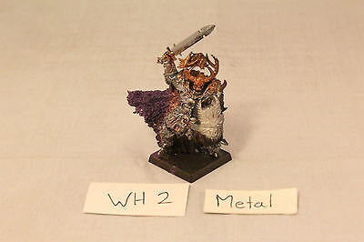 Warhammer Warriors of Chaos Lord on Foot