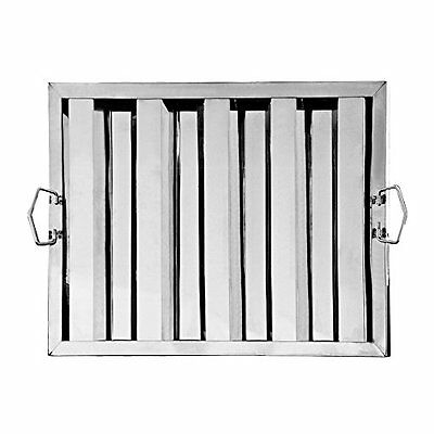 """Star Foodservice 54354 Stainless Steel Hood Filter, 20"""" x 16"""""""