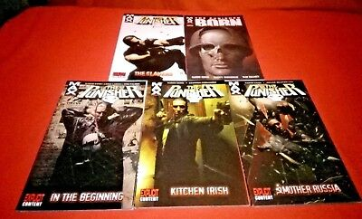 Punisher Max Vol 1 2 3 Wolverine & Punisher War Journal Classic Vol 1 Tpb