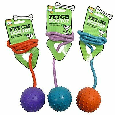 Good Boy Large Ball On A Rope, 75 mm  3-inch