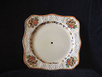 Vintage Art Deco 1930's Myott Staffordshire Cake Plate FH 2909 Made In England