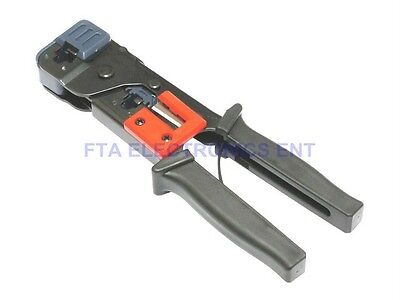 RJ11 Phone RJ45 Network CAT6 CAT5 Cable Crimping Stripper Tool for UTP Connector