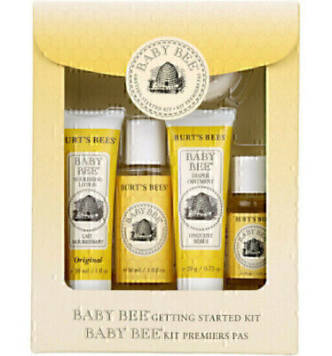 Burts Bees Baby Bee New Born Starter Kit Shampoo Diaper Lotion Soap