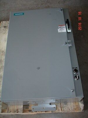 Siemens 87HUG6FA Pump Control Panel 25-100Amp Size 3 Starter Fusible Disconnect