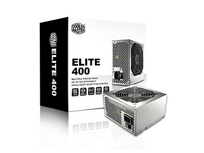 CoolerMaster 400W (BULK) ELITE POWER SUPPLY (Free shipping within Canada)