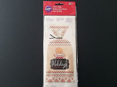 Wilton Holiday Treat Bags Christmas Party 20 count