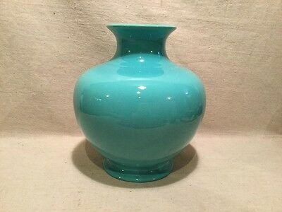 Incredible Large Catalina Pottery  Turquoise Vase