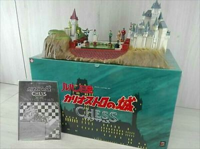 MegaHouse Lupin the Third Cagliostro's Castle Diorama Chess Board game[611]