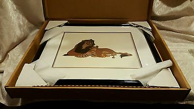 "WDW Sericel Animation Art ""LION KING: Scheming Scar"" LIMITED EDITION 5000"