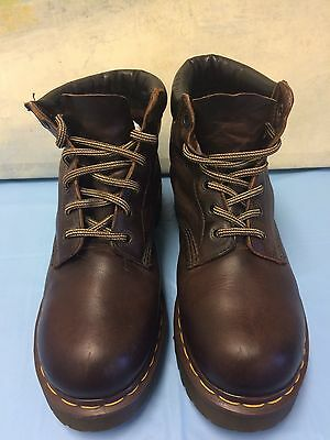 Dr Martens The Original Air Wair Brown Leather Fashion Boot UK 7 /USL9/USM8