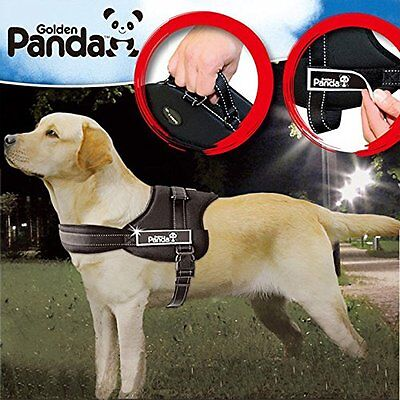 Adjustable Harness For Large Dog Soft Vest Reflective Outdoor Walk Hand Strap
