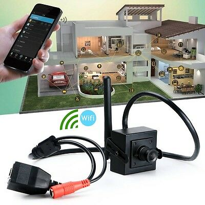 720p HD Mini Wireless Wifi Infrarot wasserdicht versteckte Spion Videokamera New