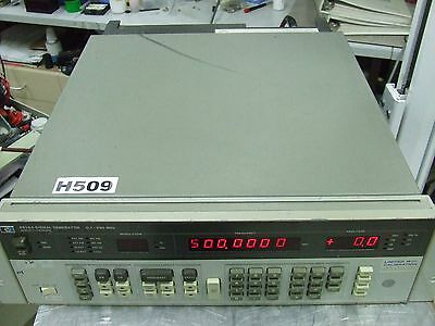 Hewlett Packard HP 8656A Signal Generator 990 MHz with opt 002 *Tested & Working