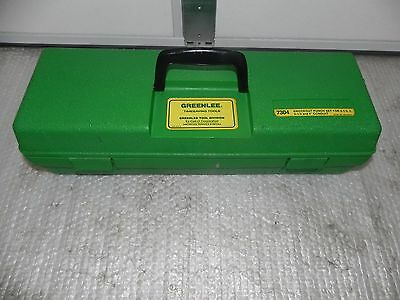 """Greenlee  7304 knockout punch set 2-1/2 to  4"""" Conduit size W case 7310,767,746"""