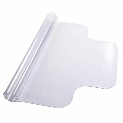 Home Office Hard Floor Protector Desk Chair Protective Mat 1.50mm Thickness Lip