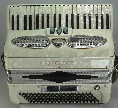 Excelsior Piano Accordion 120 Bass - Model 305