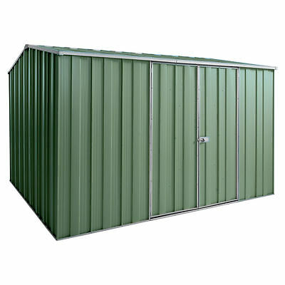 Spanbilt G98 Garden Shed 3.145m x 2.8m x 2.08m double door colour
