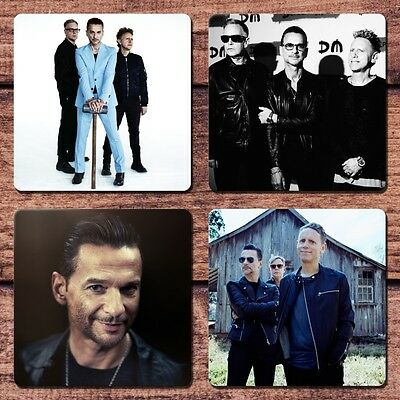 Depeche Mode Coaster Set NEW Enjoy the Silence DM It's No Good Dave Gahan