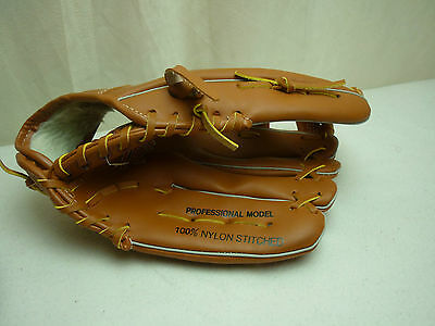 Midwest Slugger Fielders' Baseball Glove with a ball Adult & Youth left hand