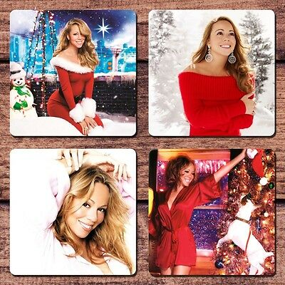 Mariah Carey Coaster Set NEW All I Want For Christmas Is You We Belong Together