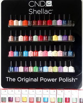 CND Shellac UV Gel Nail Polish - Pick 1 or more Colors A-Z Brand New FULL SIZE