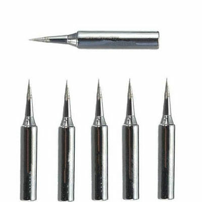 12pcs//lot 900M-T Solder Iron Tips for Hakko Atten Quick Saike Kada Aoyue JWA
