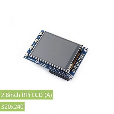 2.8inch RPi LCD (A) 320×240 Resistive Touch Screen TFT LCD for All Raspberry Pis
