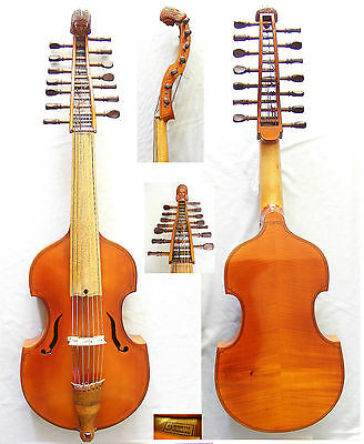 Viola D'Amore 14 strings   viole d'amour Viola Д'Амор  Hungarian master