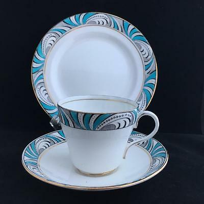 STANDARD CHINA ART DECO 1920's TRIO cup saucer and plate VINTAGE