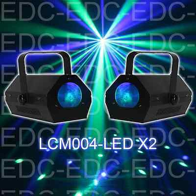 PACK 2 Jeux de Lumiere à Led Effet Moon Flower Led RVBBA   IBIZA projecteur DJ P