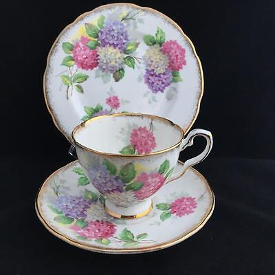 ROYAL STAFFORD CAROUSEL TRIO cup saucer and plate VINTAGE