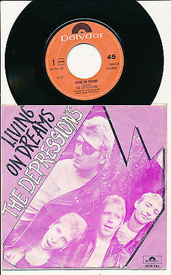 """The Depressions 45 Tours 7"""" Hollande Living On Dreams"""