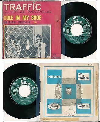 """Traffic 45 Tours 7"""" France Hole In My Shoe"""