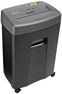 AmazonBasics 17-Sheet Cross-Cut Paper, CD, and Credit Card Shredder with Pullout