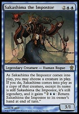 Magic Sakashima L'impostore - Sakashima The Impostor Rare Saviors Sok Mtg