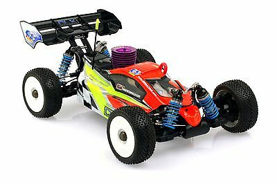GS Racing Storm CLX Pro 1/8th Nitro RC Buggy (Self Assembly Kit)