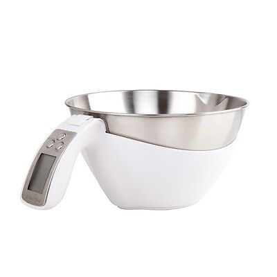 Electronic Digital Kitchen Scales Measuring Bowl Cup Scale Food Weight Postal