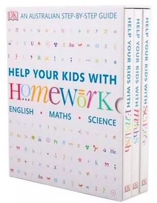 Help Your Kids With Homework English Math Science 3 Book Australian School Guide