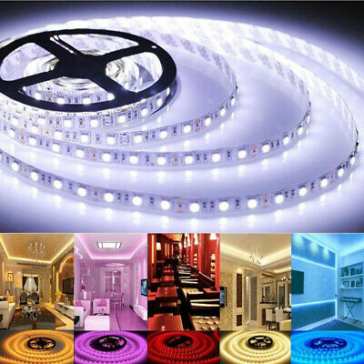 5M/600LED Xmas Wedding Room Decor 3528SMD Strip Light Waterproof Flexible Ribbon