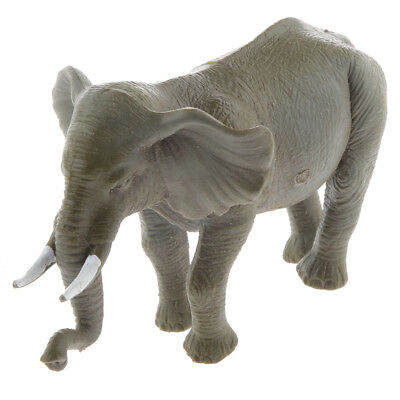 Plastic Elephant Animal Model Figure Figurine Kid Toy Outdoor Indoor Play #2