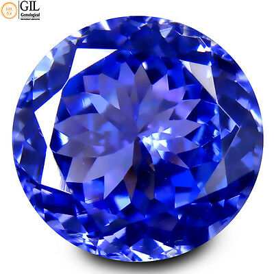 "7.10 ct FREE ""GIL"" CERTIFIED MARVELOUS TOP QUALITY 100% NATURAL TANZANITE"
