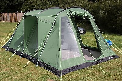Outwell Oakville 500 - 5 Berth Family Tent Package Carpet & Footprint