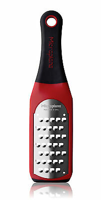 Microplane Artisan Extra Coarse Grater Red 42138