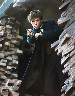 Eddie Redmayne Signed Photo, Fantastic Beasts And Where To Find Them, 1