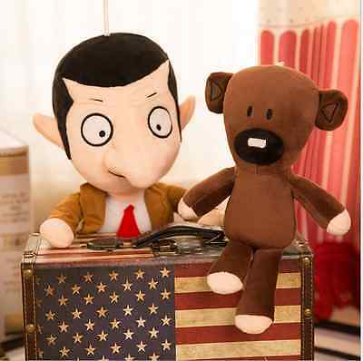 The new boutique Mr. Bean and Cubs doll funny funny plush toys.30cm