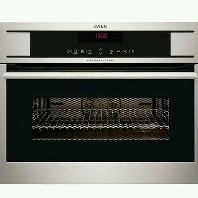 Aeg Built-in Combi Microwave KM8403101M - Stainless Steel